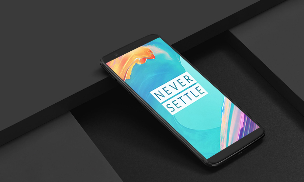 OnePlus 5T 4G Phablet Android 7.1 6.01 inch Snapdragon 835 Octa Core 2.45GHz 6GB RAM 64GB ROM 16.0MP + 20.0MP Dual Rear Cameras Full Optic AMOLED Screen Fingerprint Scanner - Black