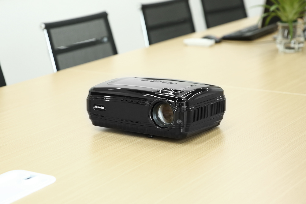Alfwise X LCD Projector Android 6.0 / Wi-Fi / 3200 LM / Full HD 1080P / Multimedia Player for Home Theater