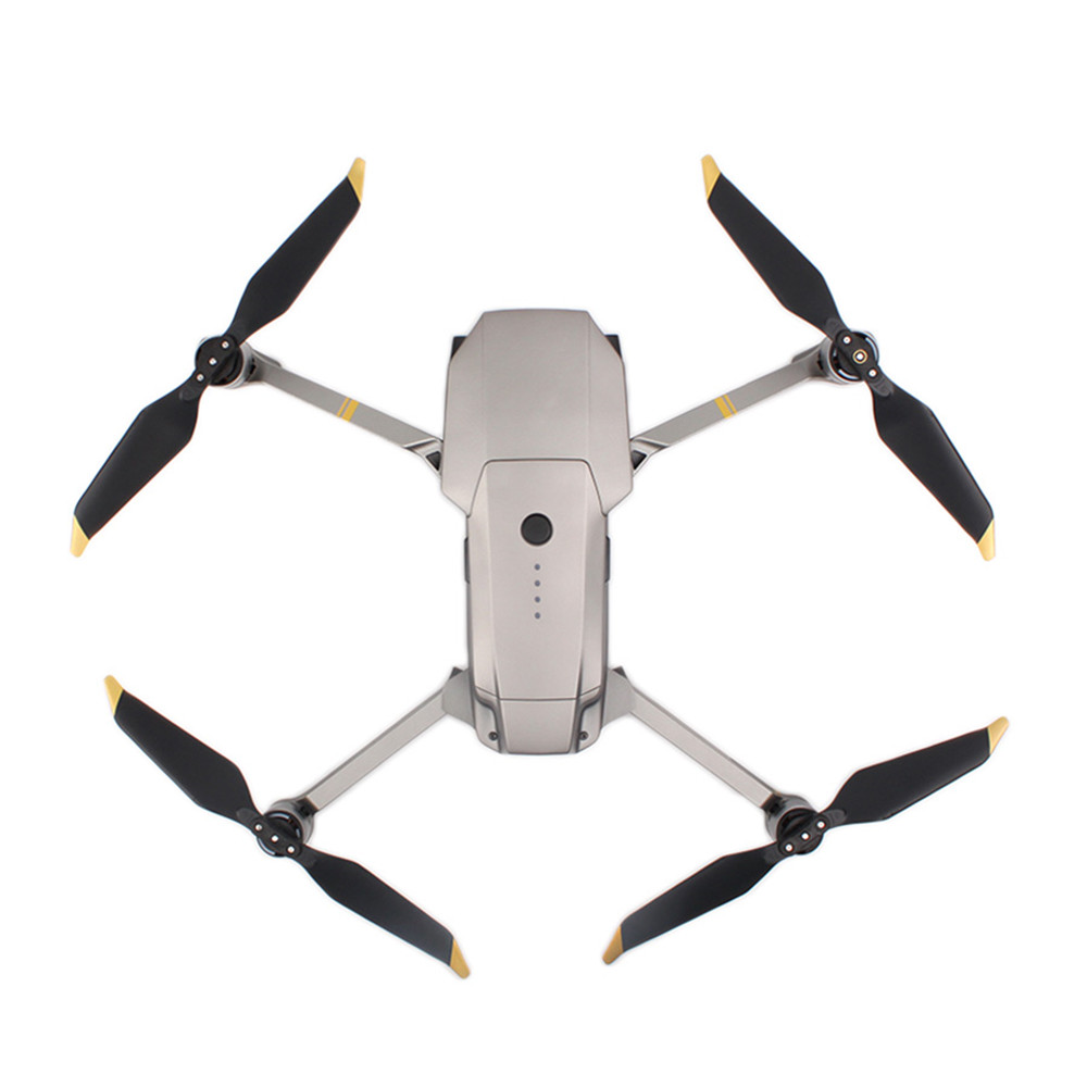 4 Pairs Low-Noise Quick-Release 8331 Propellers for DJI Mavic Pro Platinum f1