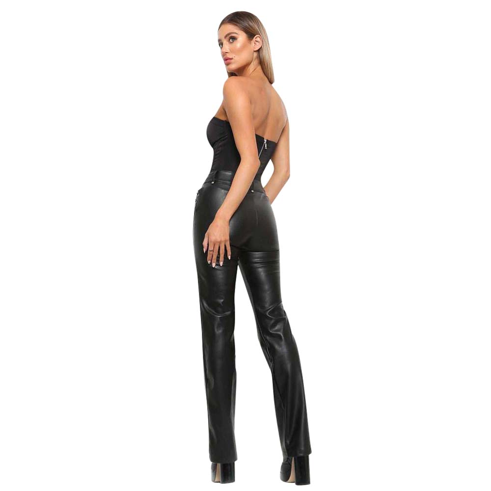 Women's Tube Top Tube Shorts Female Summer Bottoming Jumpsuits