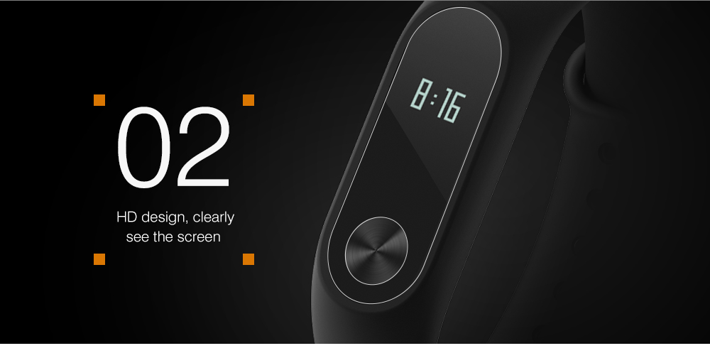 Scratch Resistant High-definition Screen Protective Film for Xiaomi Mi Band 2 5pcs