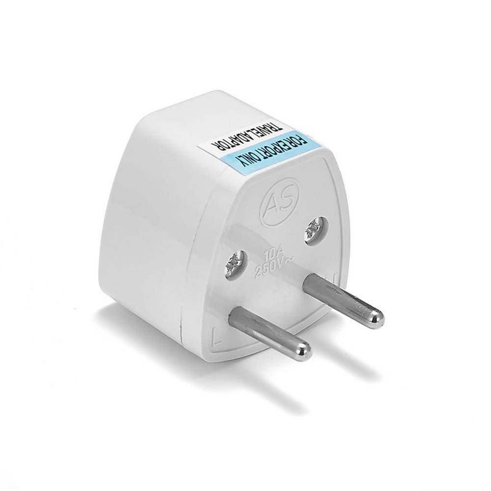 Eu Plug Adapter Converter Us Au Uk To European Euro Europe Ac Travel Power Socket Switch Wireless On Telephone Wall Wiring Australia Electric