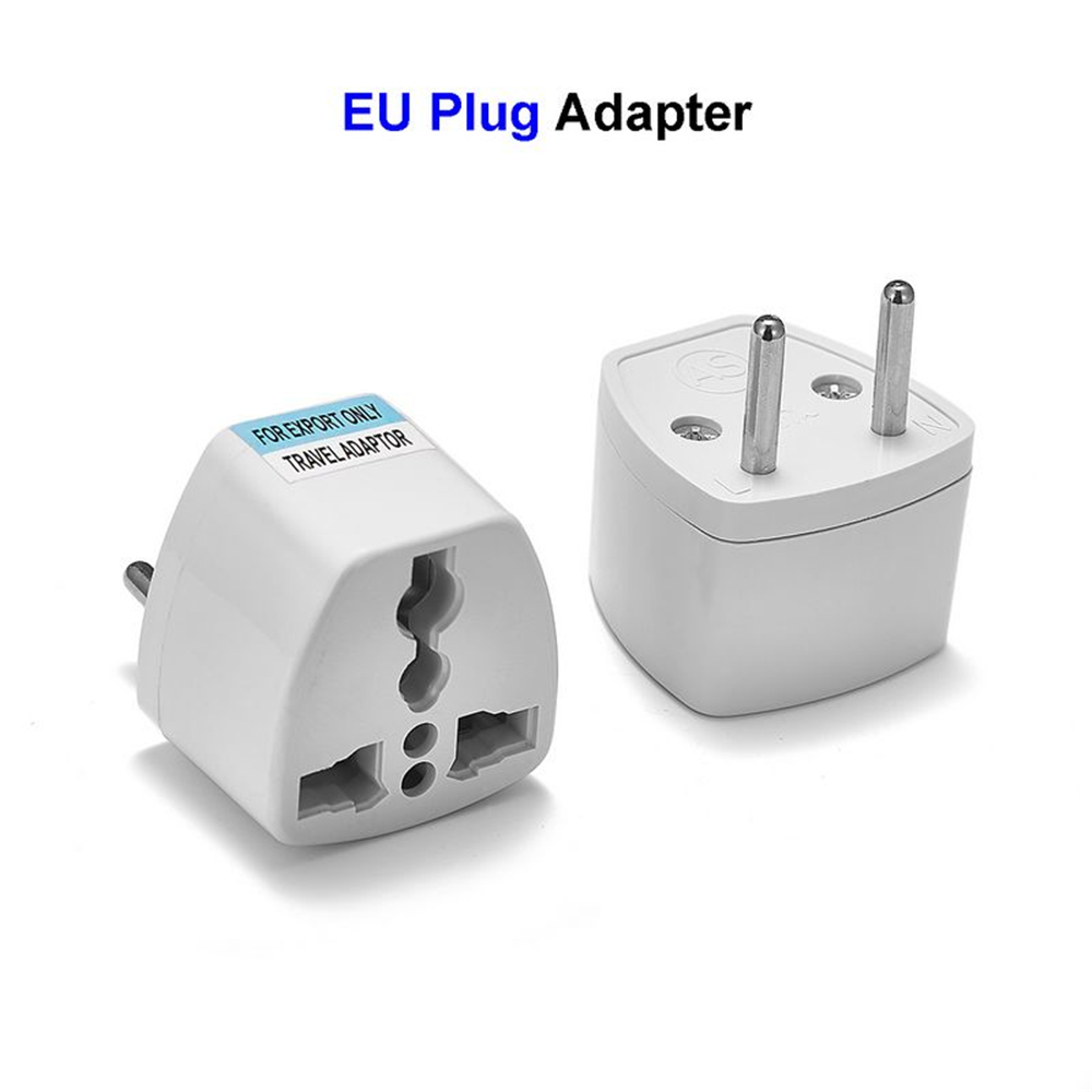 EU Plug Adapter Converter US AU UK To European Euro Europe AC Travel Power  Adapter Electric