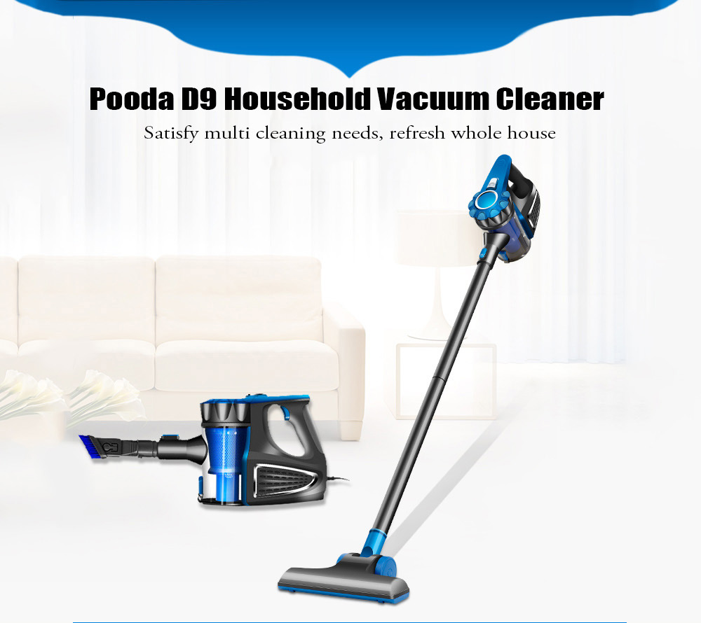 Pooda D9 Household Vacuum Cleaner Handheld Floor Cleaning Machine