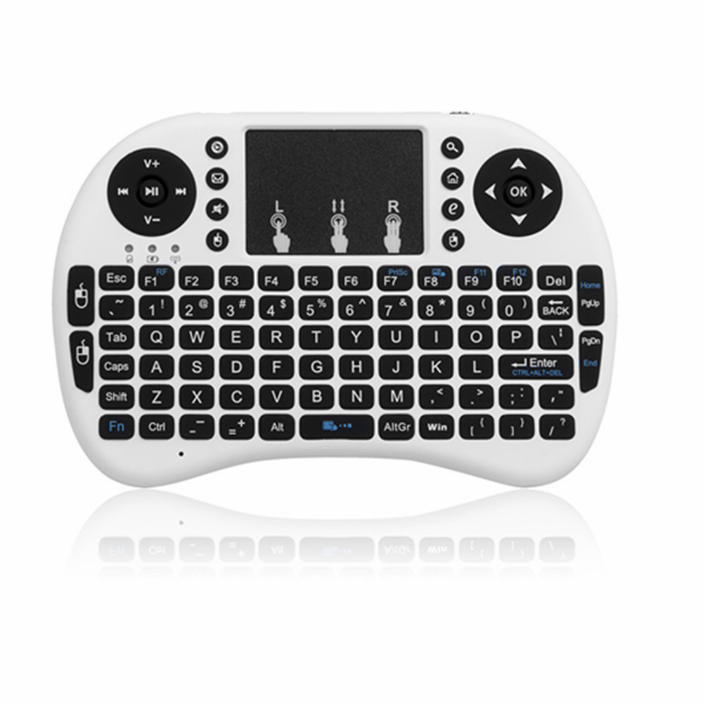 2.4Ghz Wireless Air Mouse Mini Keyboard Smart Remote I8 with ...