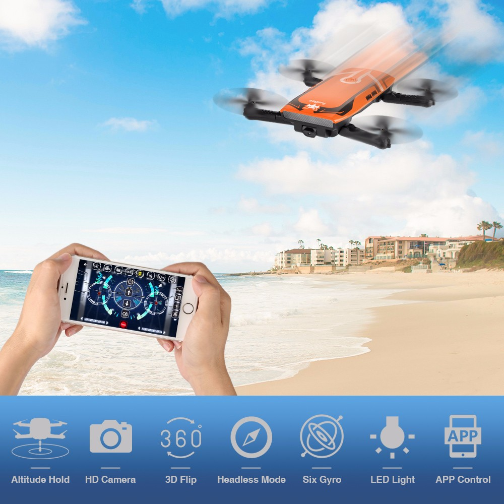 FuriBee H818 6 Axis Gyro Remote Control Quadcopter 2.0MP WiFi Camera