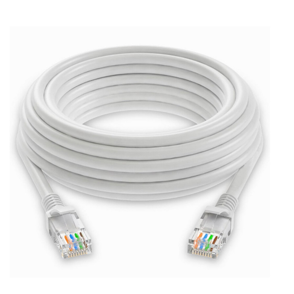 Yeshold Ethernet Cord Rj45 Network Twisted Pair Lan Cable 18m The Circuit Board Connector Waterproof White
