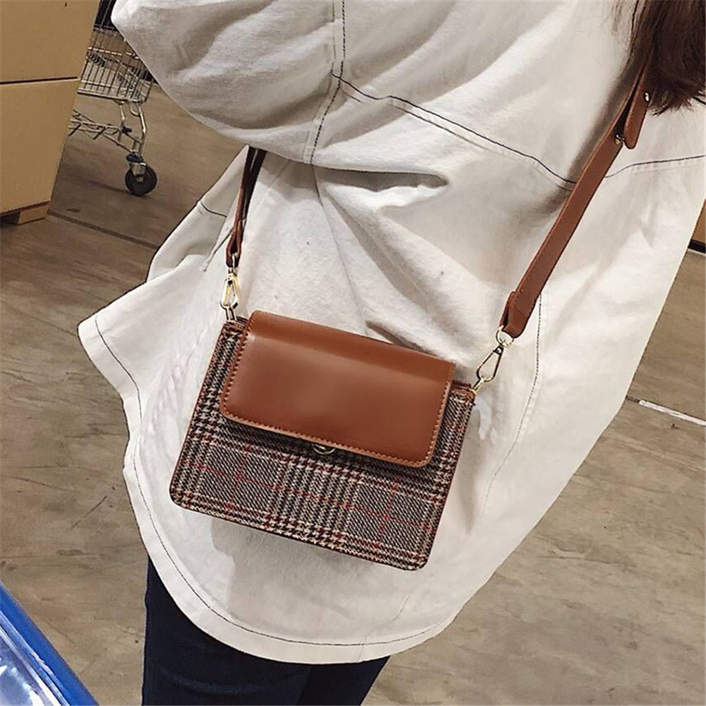 Wild Wide Shoulder Strap Messenger Bag