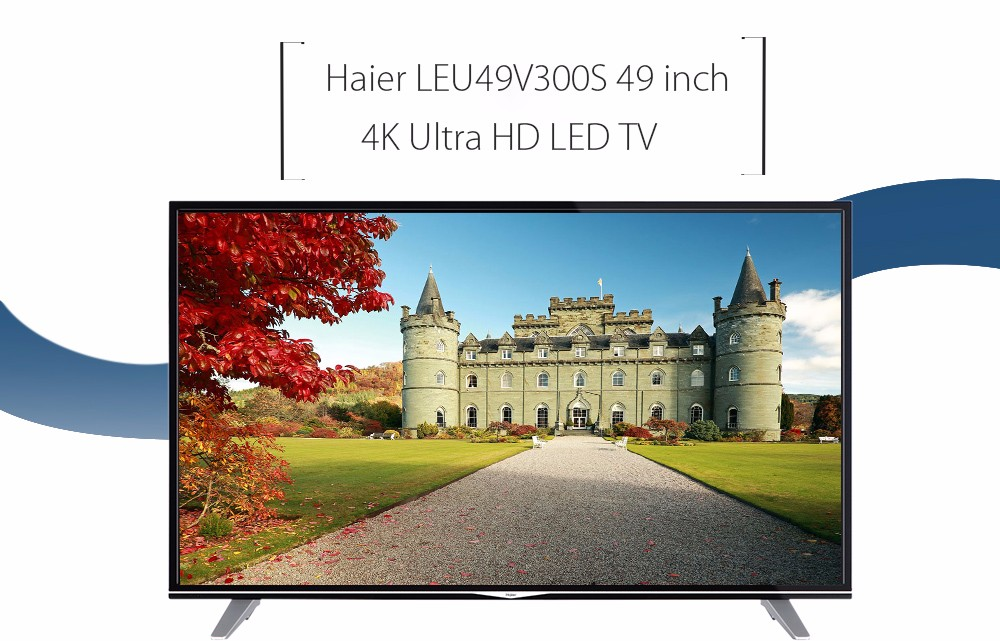Haier LEU49V300S 49 inch 4K UHD LED TV