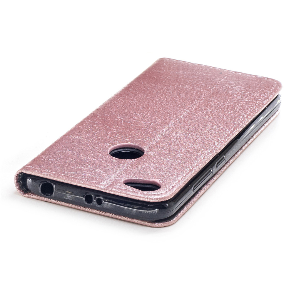 Cover Case for Xiaomi Redmi Note 5A Card Holder with Stand Flip Full Body Lines / Waves Hard PU Leather