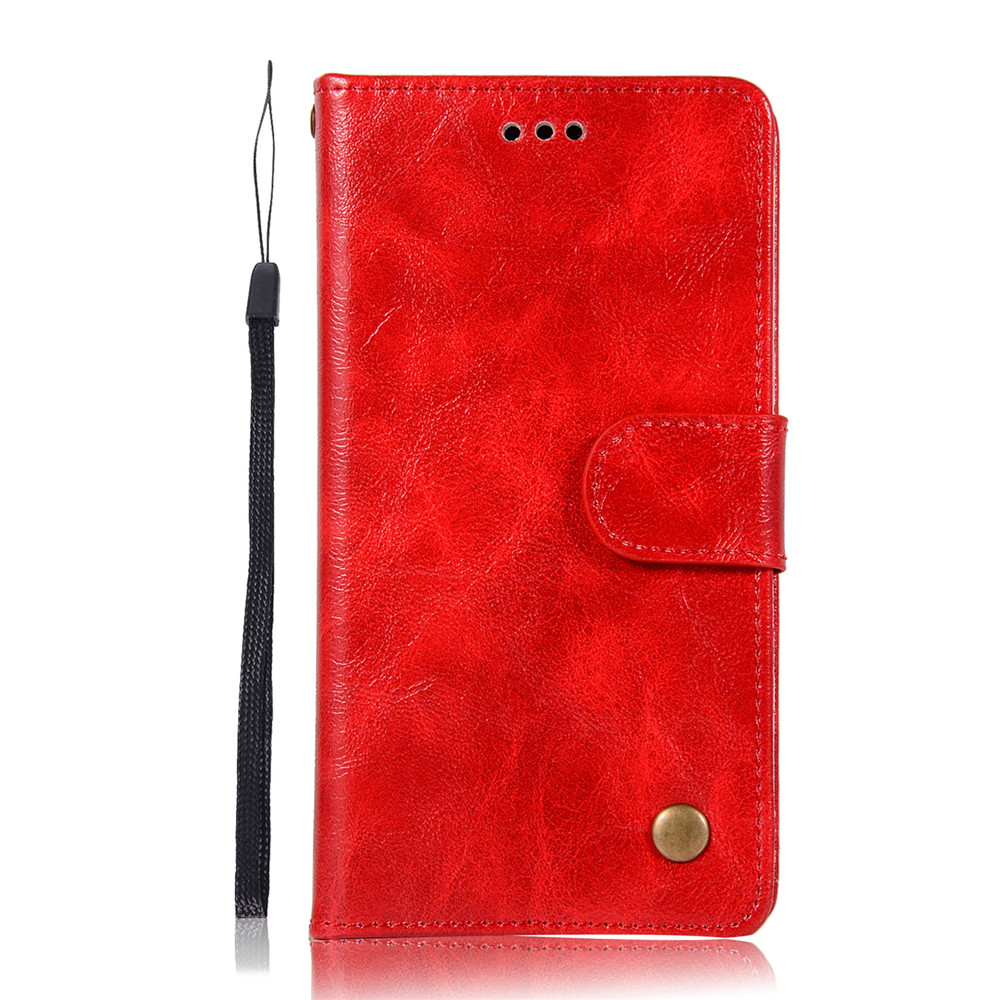 Luxurious Vintage Flip Leather Case PU Wallet Cover Cases For Alcatel U5 4G  5047 / 5044 5 0 Inch Phone Bag with Stand