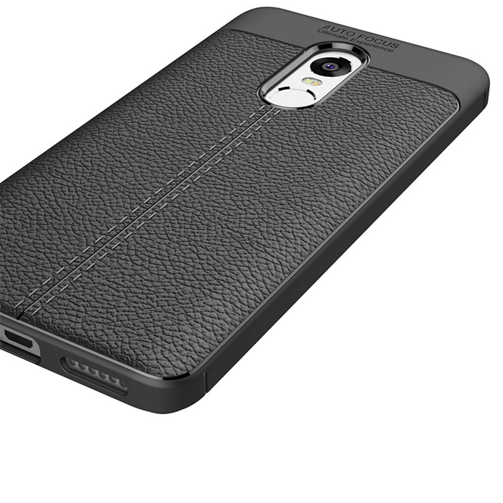 Cover Case for Xiaomi Redmi Note 4X / 4 Luxury Original Shockproof Armor Soft Leather Carbon