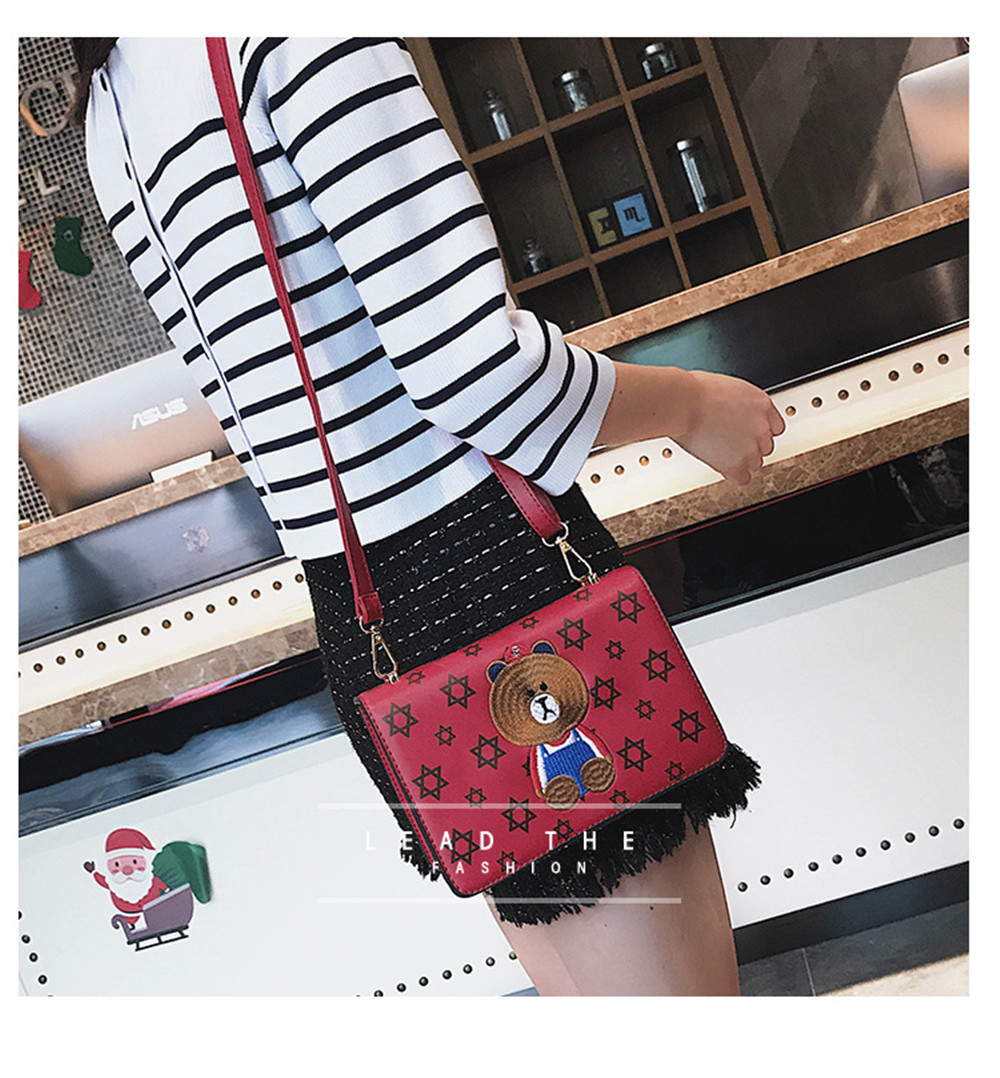 New Stylish Cartoon Casual Shoulder Messenger Bag