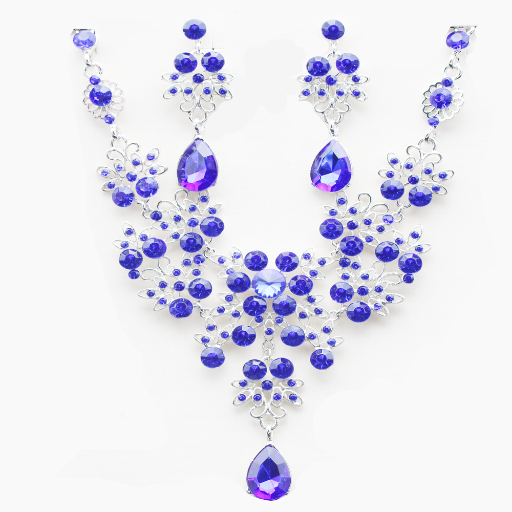 The bride necklace The bride of jewelry Bridal necklace earrings ...