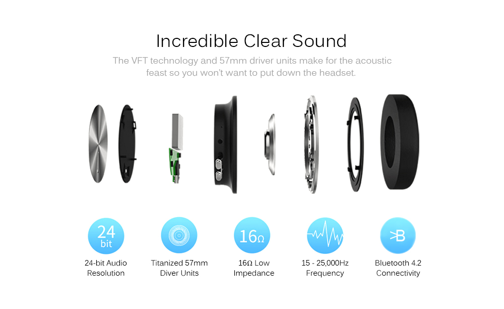 Extra Bass Fast Charging HiFi Over-ear Headset