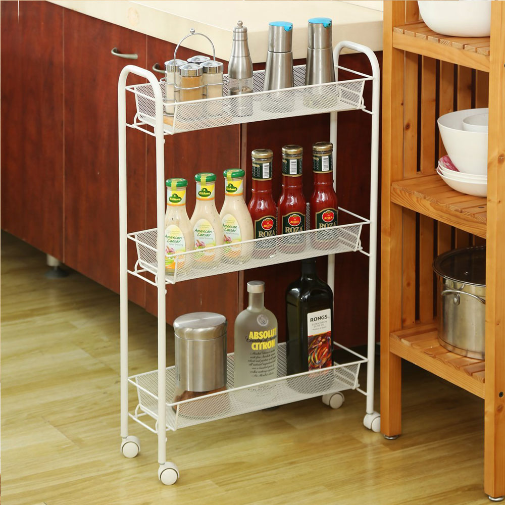 3 Tier Mesh Rolling Kitchen Cart with 3 baskets Slim Slide Out ... Slim Kitchen Cart on black kitchen cart, 3 shelf kitchen cart, rustic kitchen cart, slim box, rubber kitchen cart, wide kitchen cart, tiny kitchen cart, thin kitchen cart, skinny storage cart, red kitchen cart, 15 inch kitchen island cart, white kitchen cart, small kitchen cart, outdoor kitchen cart, retro kitchen cart, vintage kitchen cart, medium kitchen cart, simple kitchen cart, short kitchen cart, blonde kitchen cart,