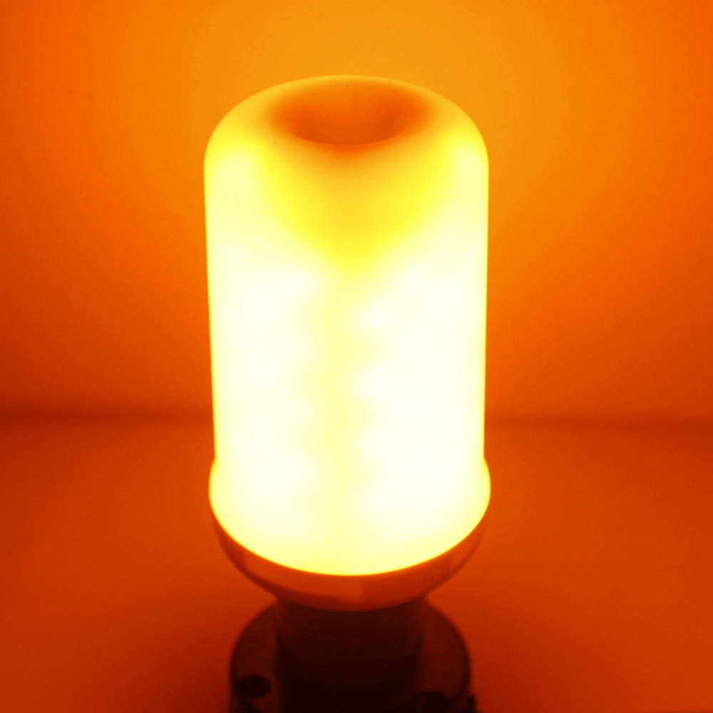 Sencart Burning Flicker Led Light Flame Fire Effect Lamp Gu10 Bulb Decorative De 5w wPkXiuZTO