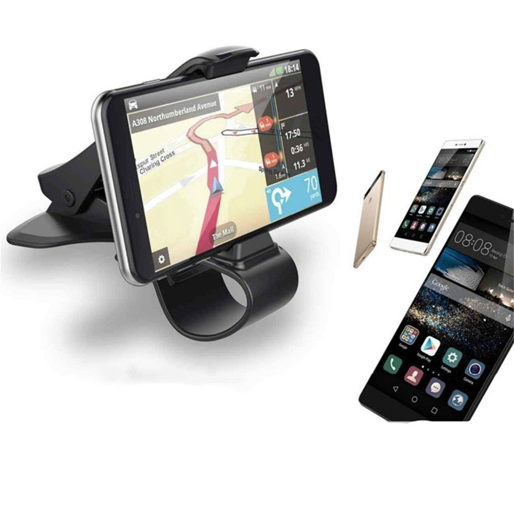 Car Phone Adjustable Bracket Card Holder Stand Cradle Multi Purpose Accessories