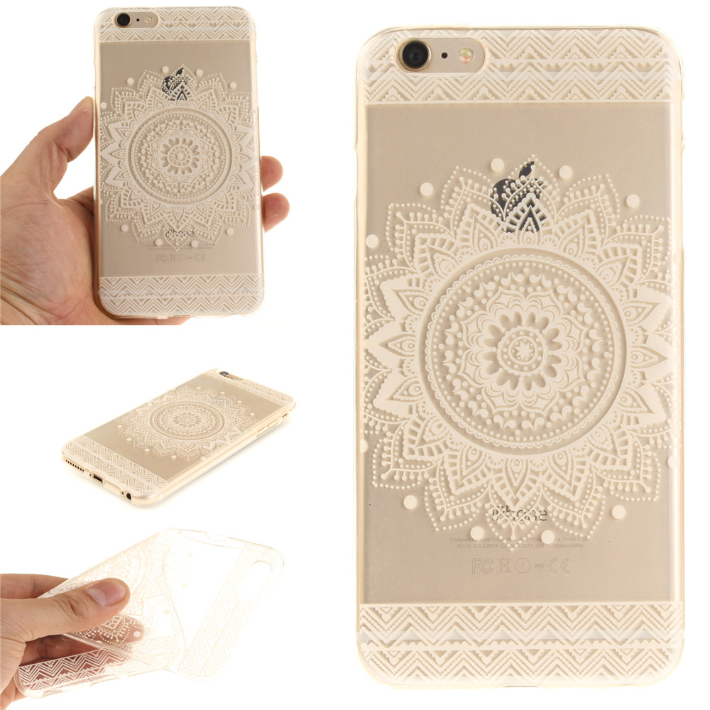IMD Clear TPU Case for iPhone 6s 6