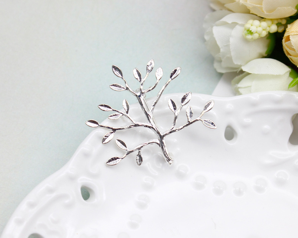 Fashion Christmas tree shapes unisex gold brooch shawl pin buckle suit accessories lover gifts
