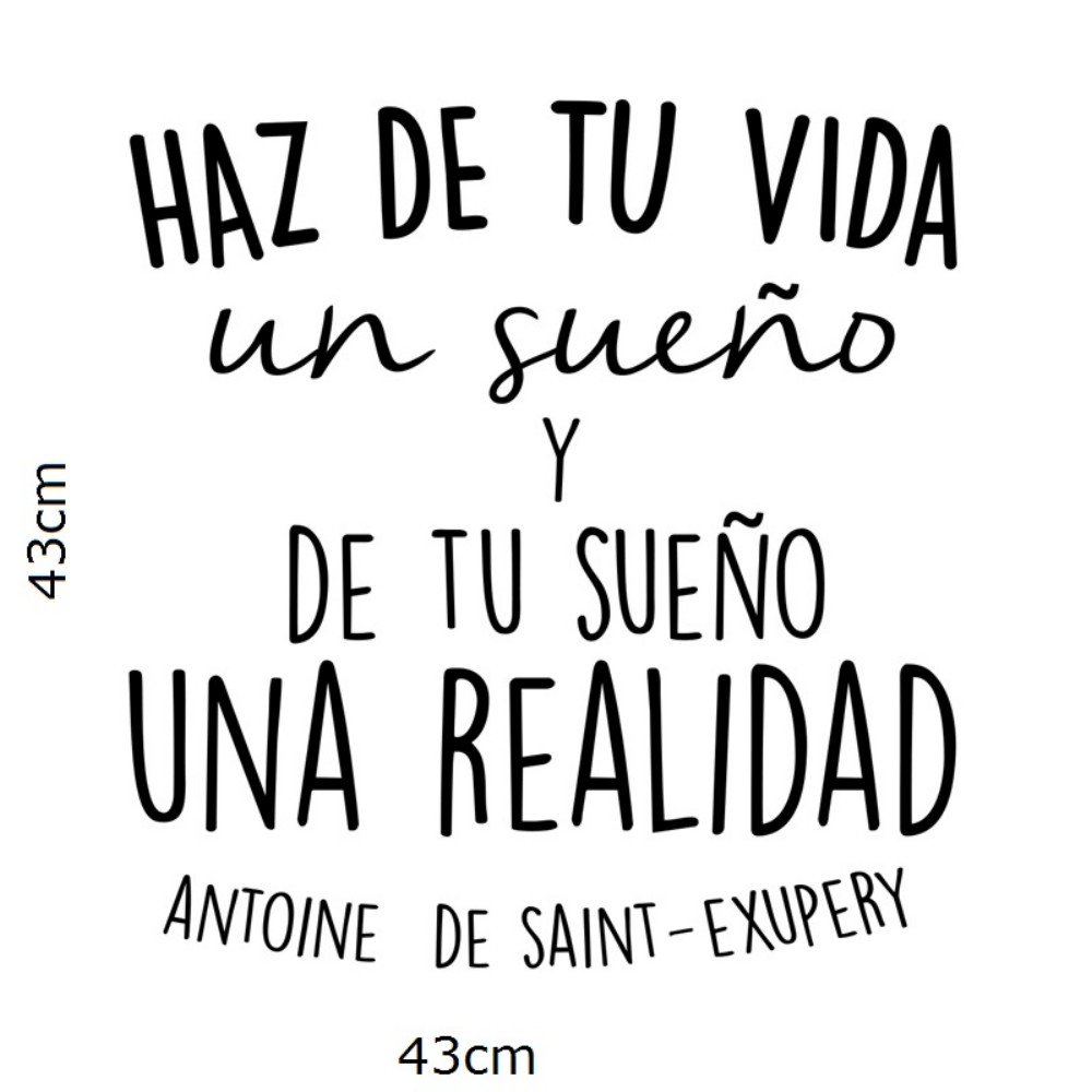 Positive quotes in spanish spanish inspirational positive quotes vinyl wall sticker make of positive quotes in