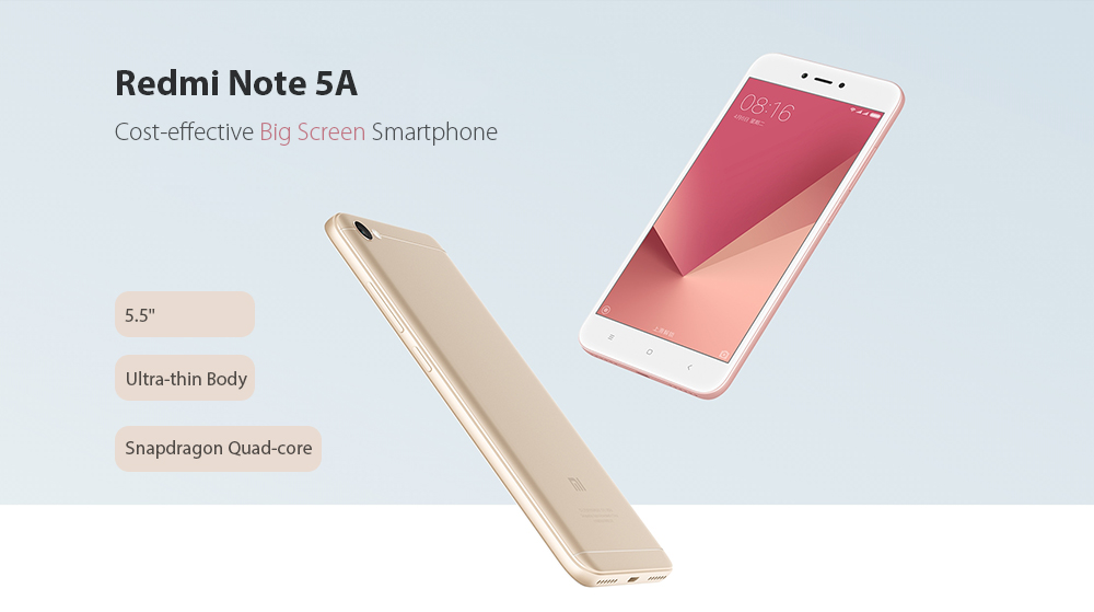 Xiaomi Redmi Note 5A 4G Phablet Global Version