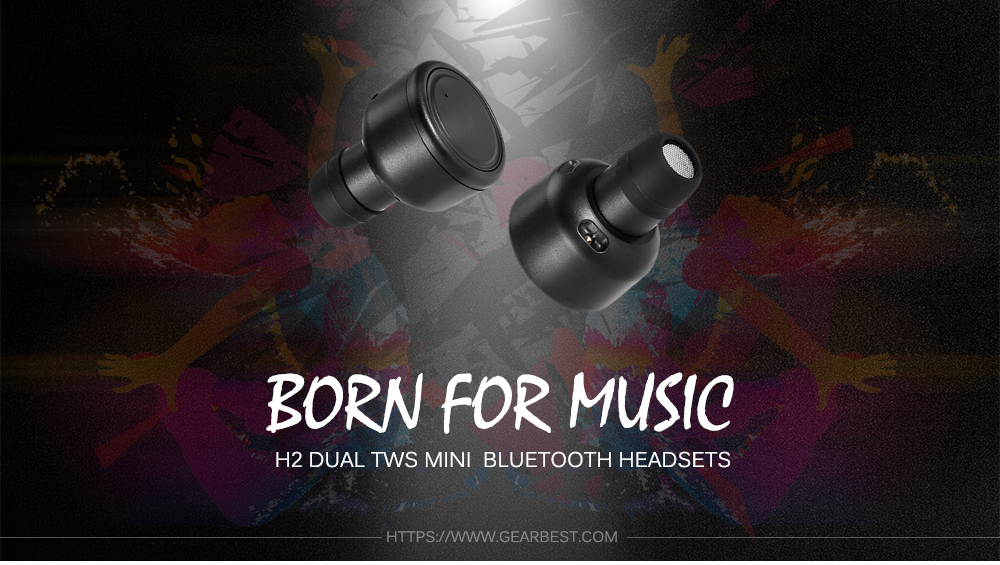 H2 Wireless Dual Bluetooth In-ear Earphones