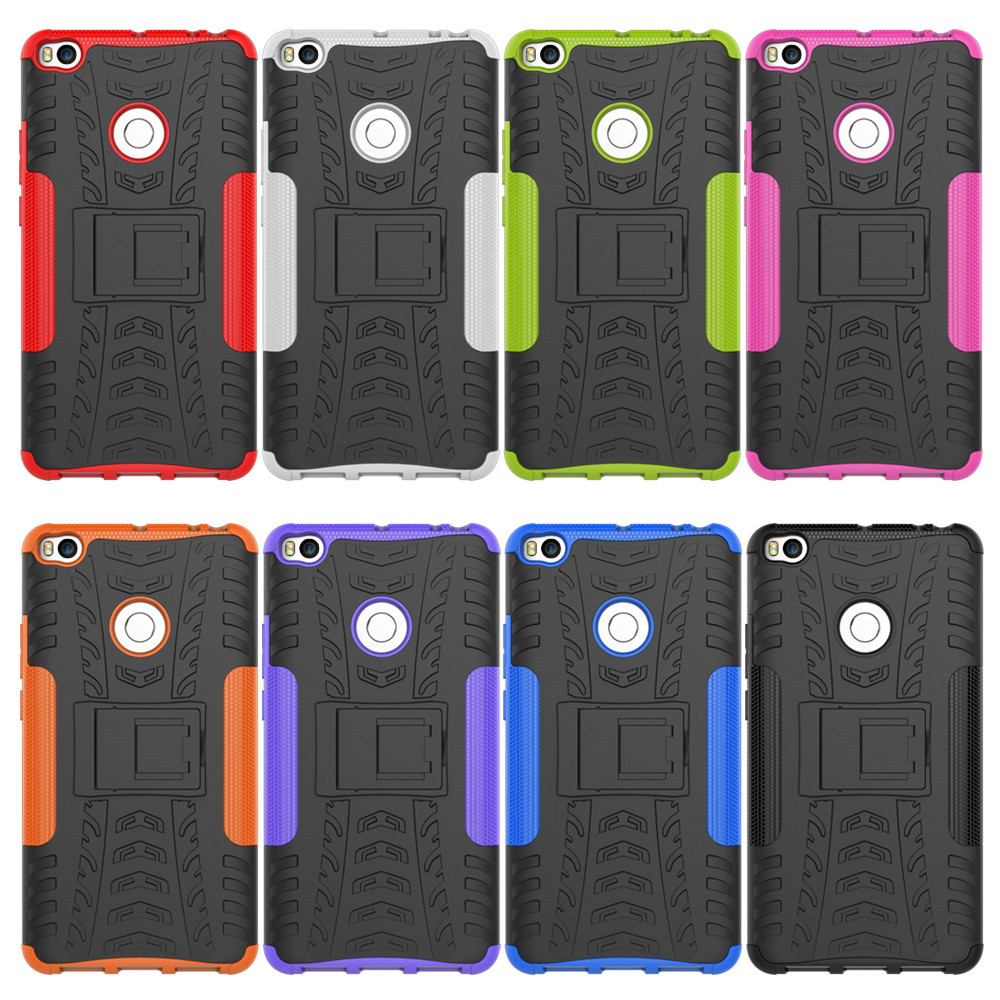 Cover Case for Xiaomi Max 2 Shock Proof And Antiskid TPU + PC Material Cool Tattoos Stents