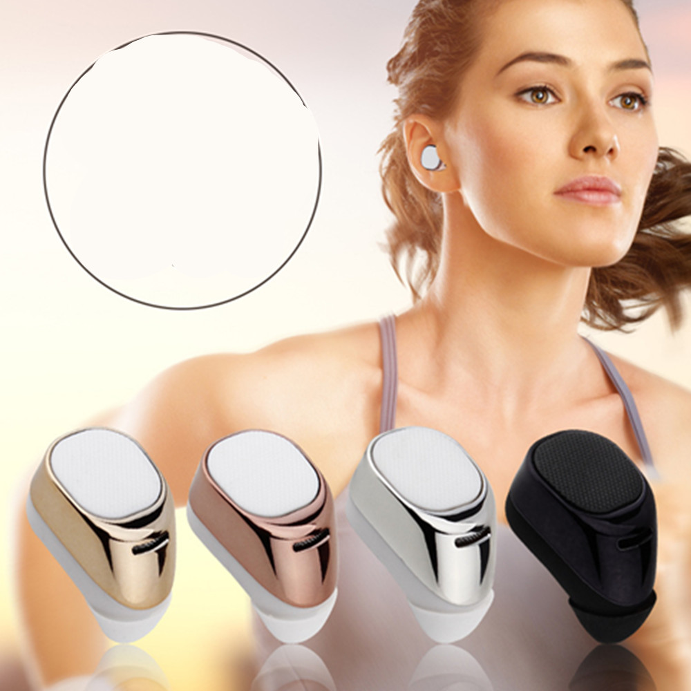 Mini Bluetooth Earbud Smallest Wireless Invisible Headphone with Car Headset with Mic for iPhone and Android Smart Phone
