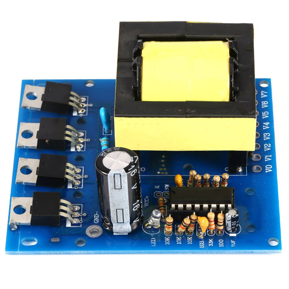 Dc Ac Converter 12v To 220v 380v 18v 500w Inverter Board Capacitor How Does This Mosquito Zapper Circuit Work Electrical Transformer Power