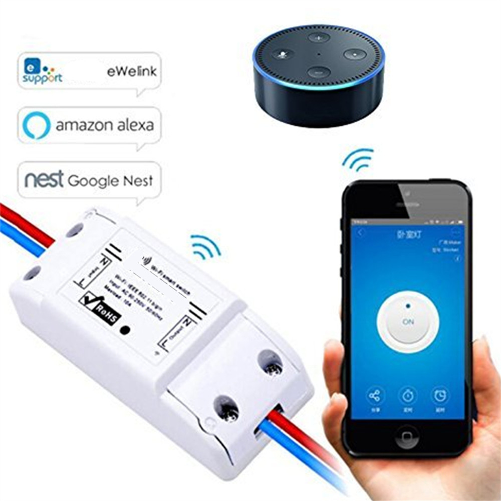 Wifi Timer Remote Controller Light Switchs Via Mobile Phone APP IOS ...