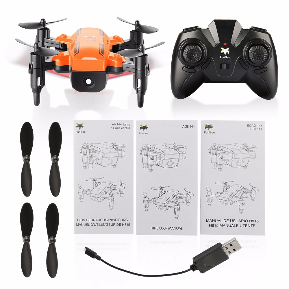 FuriBee H815 2.4GHz 4CH 6 Axis Gyro Remote Control Mini Quadcopter