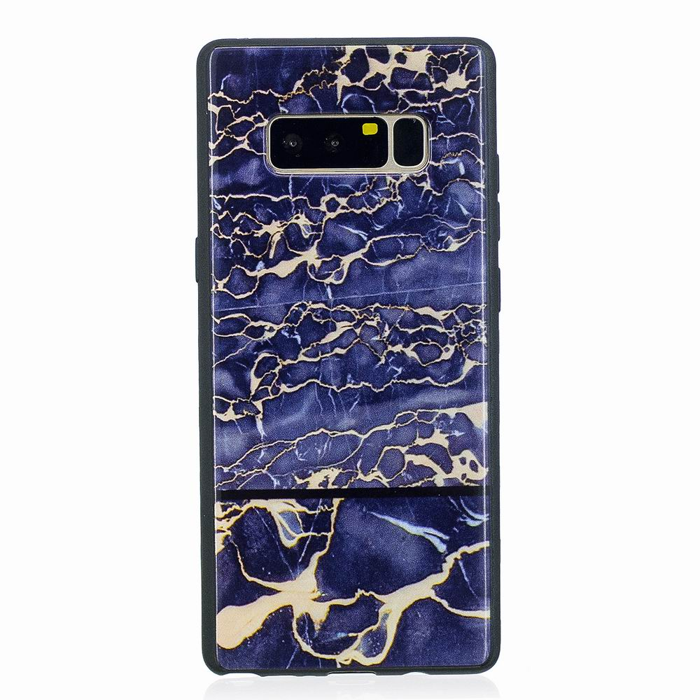 Marble Vein Soft Phone Back Cover Case For Samsung Galaxy Note 8 Anti-Knock Personality