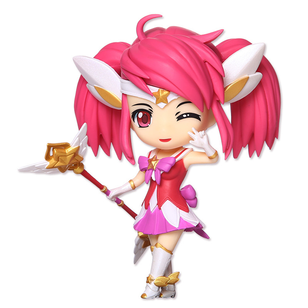 Hot Game Hero Role PVC Model with Cute Girl Image Luminosity Figurine Toy