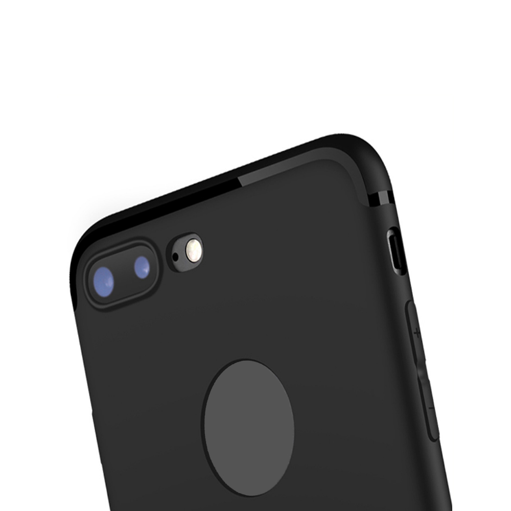 Case for iPhone 7 Plus Case Cover Frosted Back Cover Case Solid Color Soft Silicone