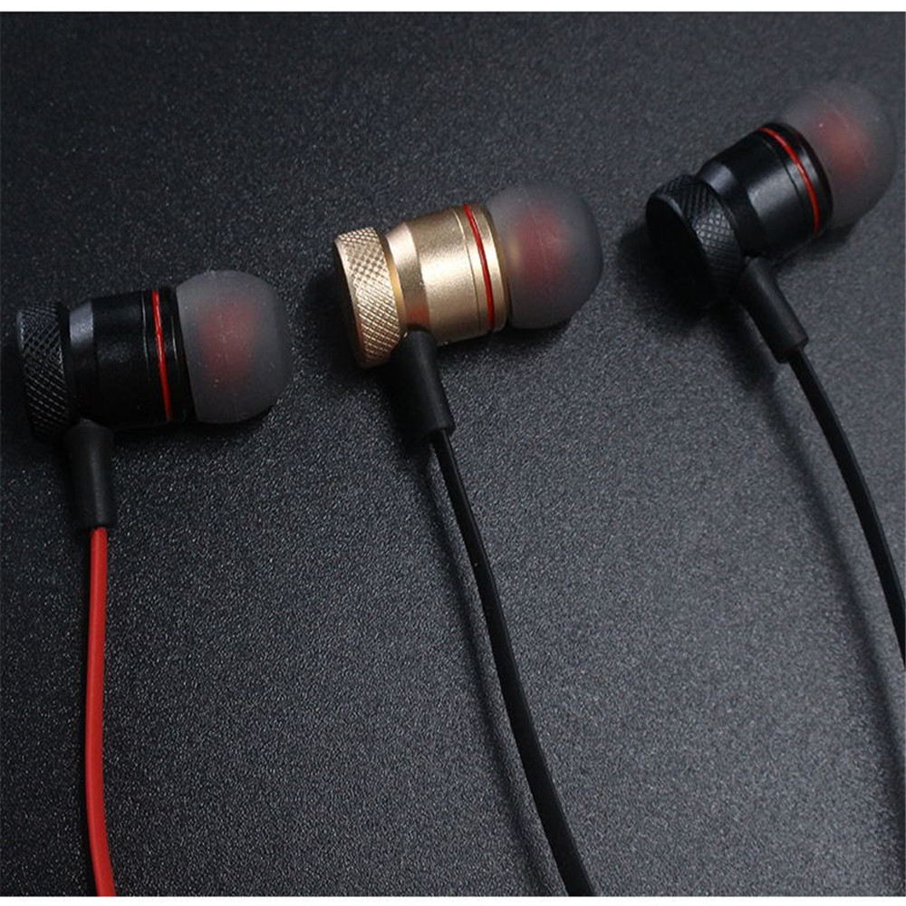 Ears Metal Magnetic Suction Wireless Bluetooth Headset