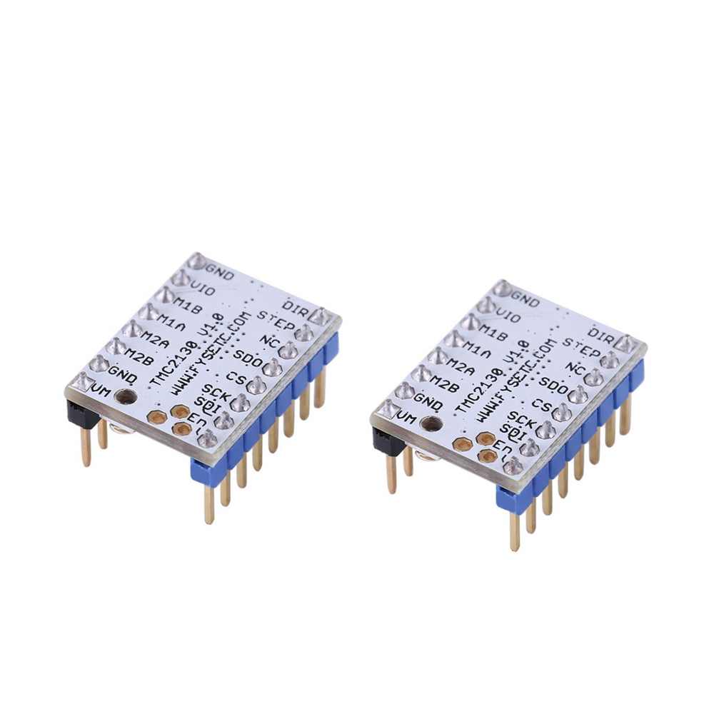 4PCS TMC2130 Stepping Motor Mute Driver Stepstick Power Tube Built-In  Driver Current 1 4A Peak Current 2 5A