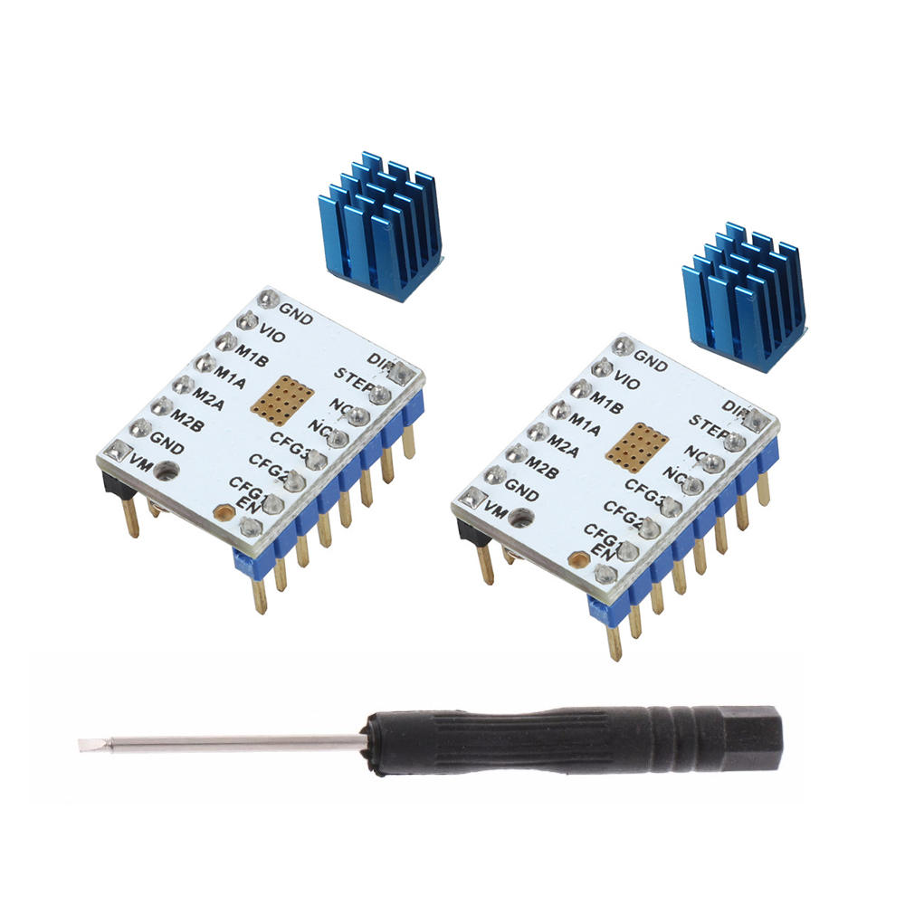 10pcs Lot 3d Printer Parts Mks Tmc2100 V13 Stepstick Stepper Motor Capacitor How Does This Mosquito Zapper Circuit Work Electrical Package Contents 10xtmc2100 Driver 10x Heat Sink 1 X Screwdriver