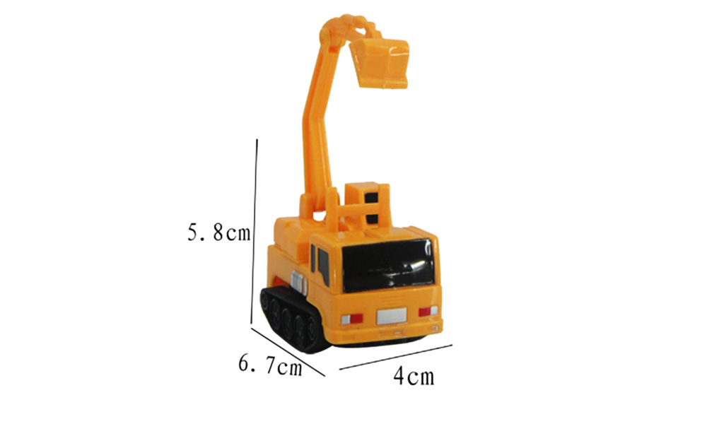 Creative Magic Marker Pen Line Inductive Construction Vehicle Toy for Kids 1pc- Colormix