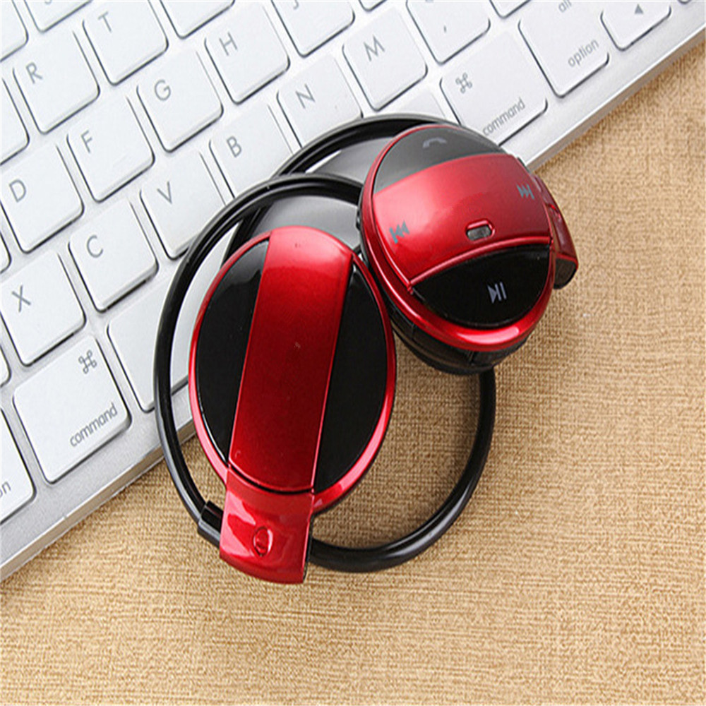 With FM Radio Can Insert TF Card Wireless Bluetooth Headset