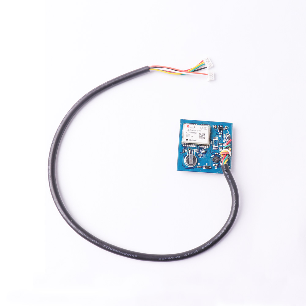 M8N GPS Module with Compass + Foldable Mounting Bracket APM Flight  Controller Port for RC Drone