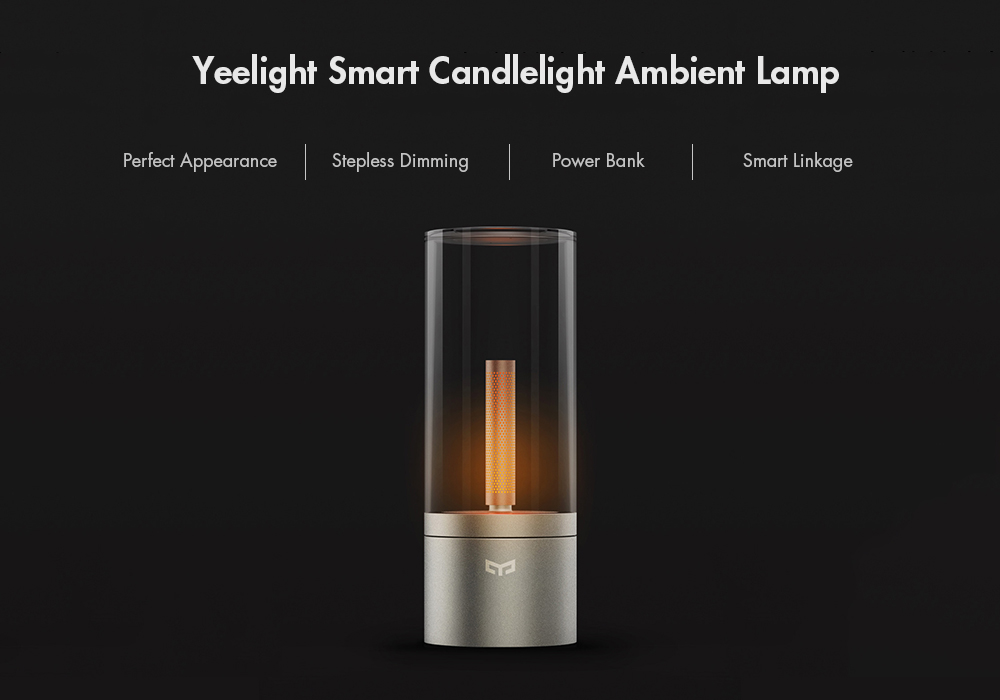 Yeelight YLFW01YL Smart Candela Light- Warm White Light 1pc