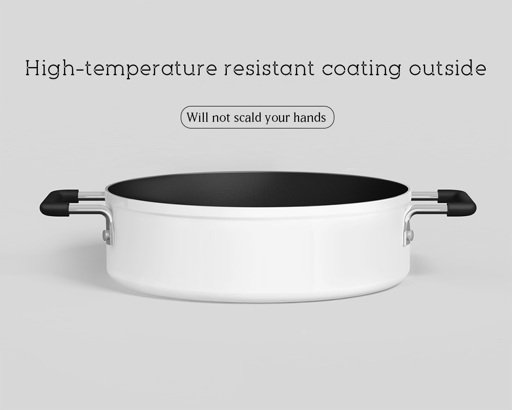 Xiaomi Non-stick Stockpot Dishwasher Safe Aluminum Covered Soup Pot