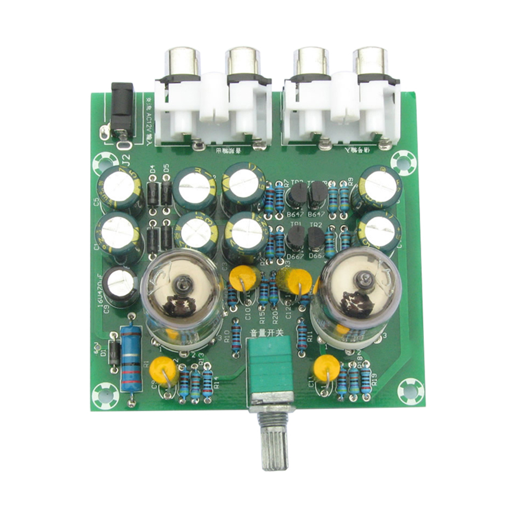 6J1 Tube Preamp Amplifier Board Pre-Amp Headphone Amp 6J1 Valve Preamp Bile  Buffer Finished Product