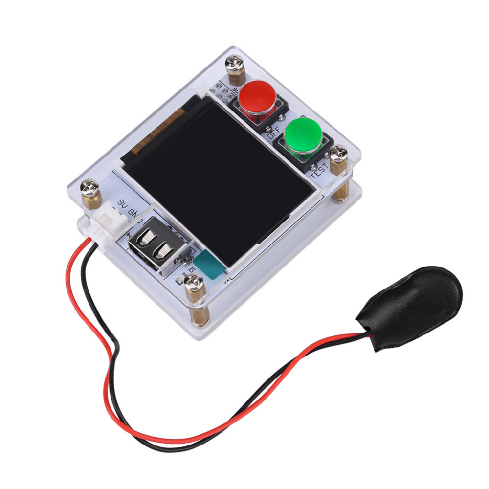 Transistor Tester Graphic Display Resistance Inductance Diode Triode For Repair Package Contents 1 X