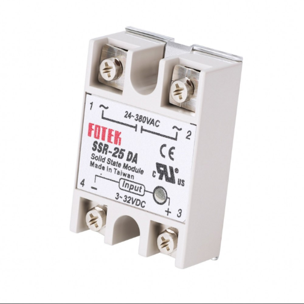 Ssr 25da Solid State Relay 3 32v Dc 24 380v Ac 25a 607 Free Finder Guess You Like