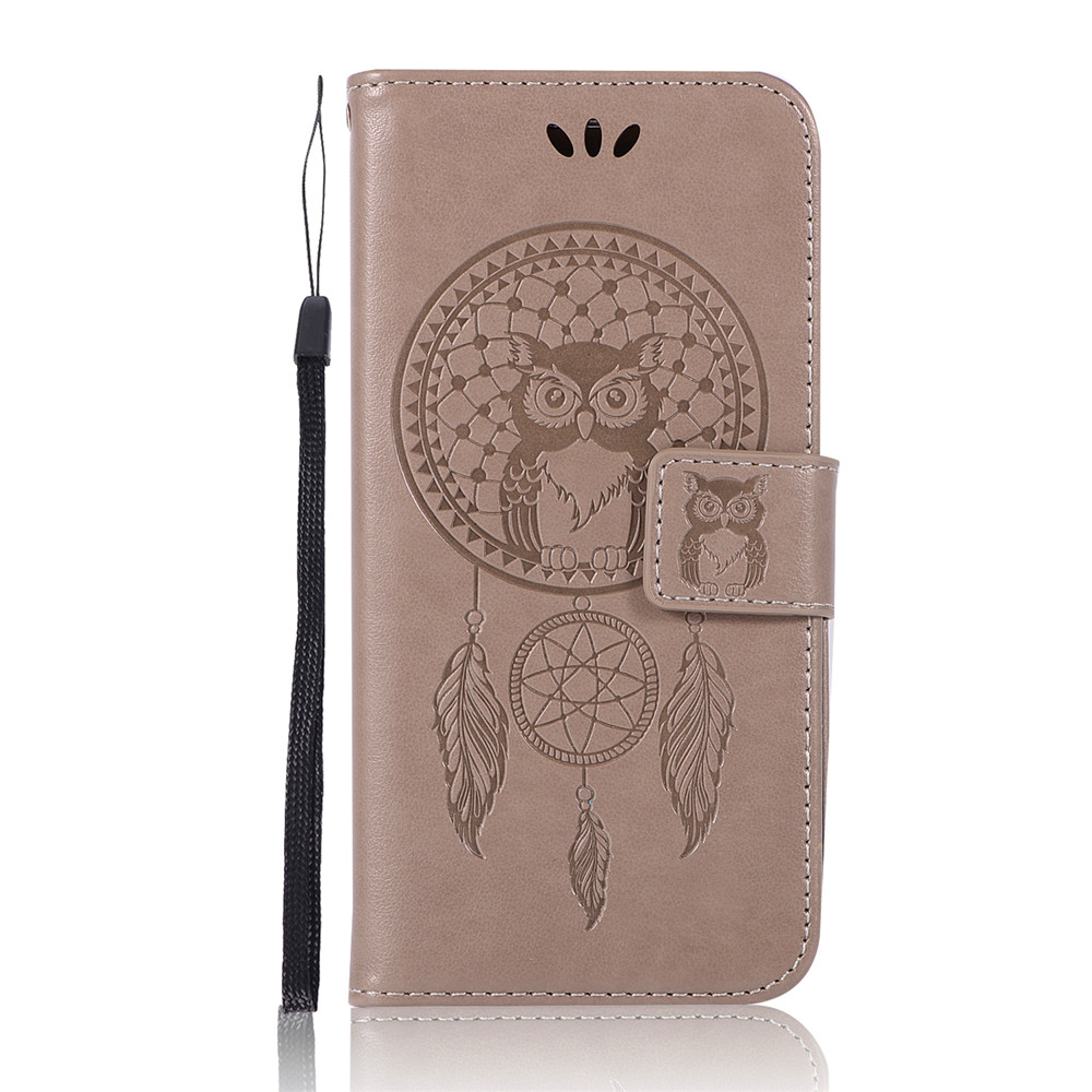 Owl Campanula Fashion Wallet Cover For Samsung Galaxy S6 Edge Phone Bag With Stand PU Extravagant Flip Leather Case