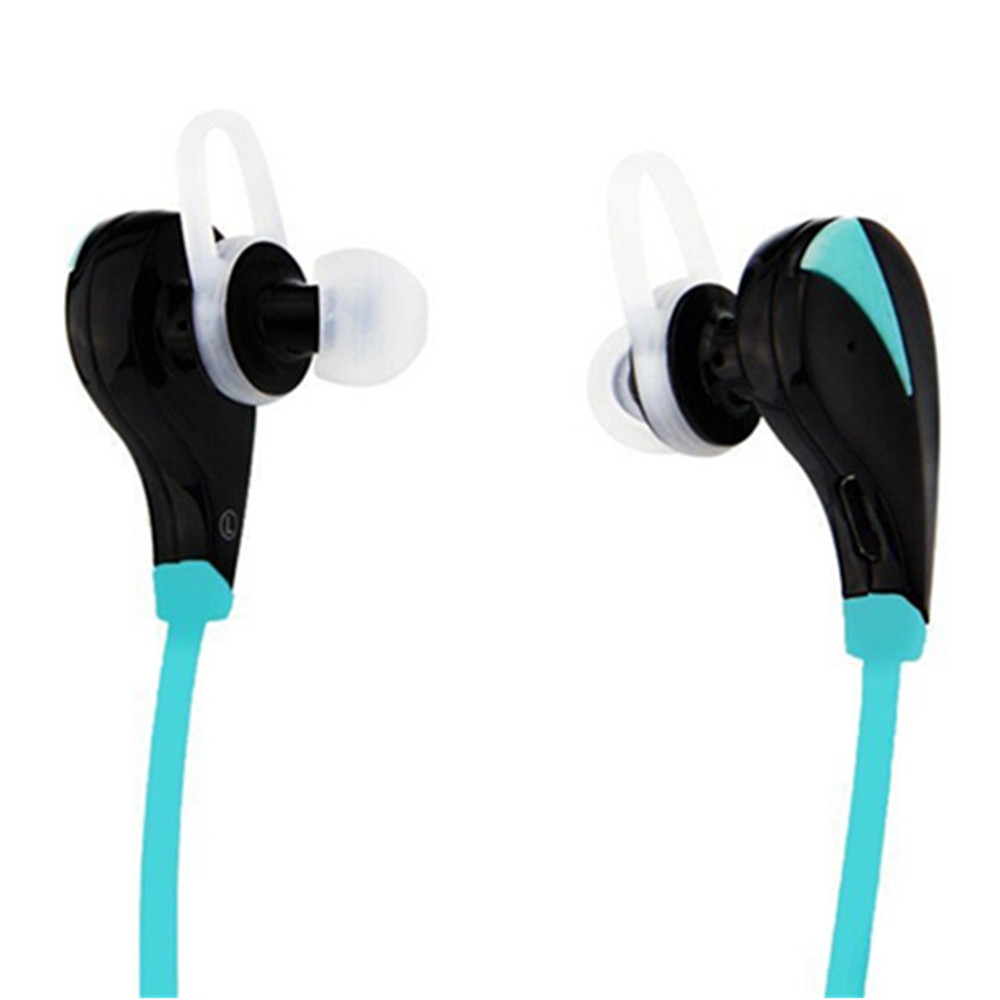Wireless Bluetooth Headphones In-Ear Sports Earbuds Sweatproof Noise Cancelling Headsets with Mic for Running