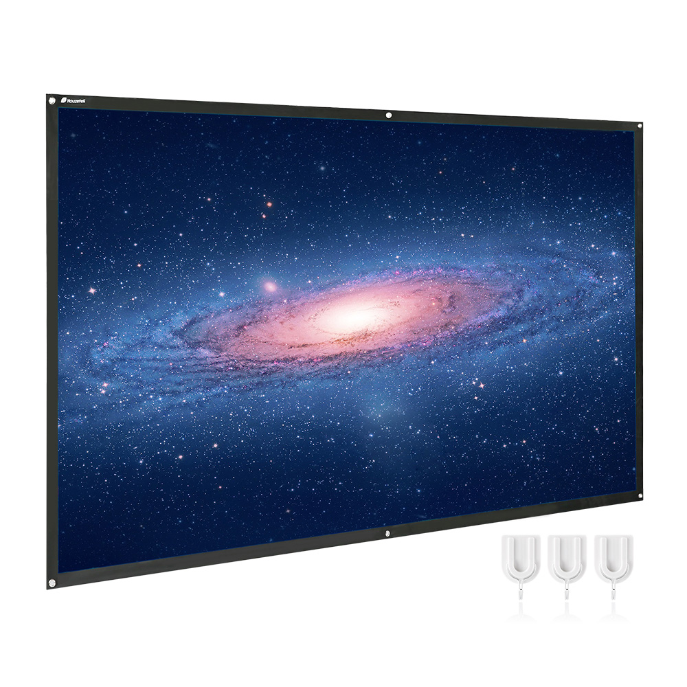 Houzetek Projector Screen 100 inch