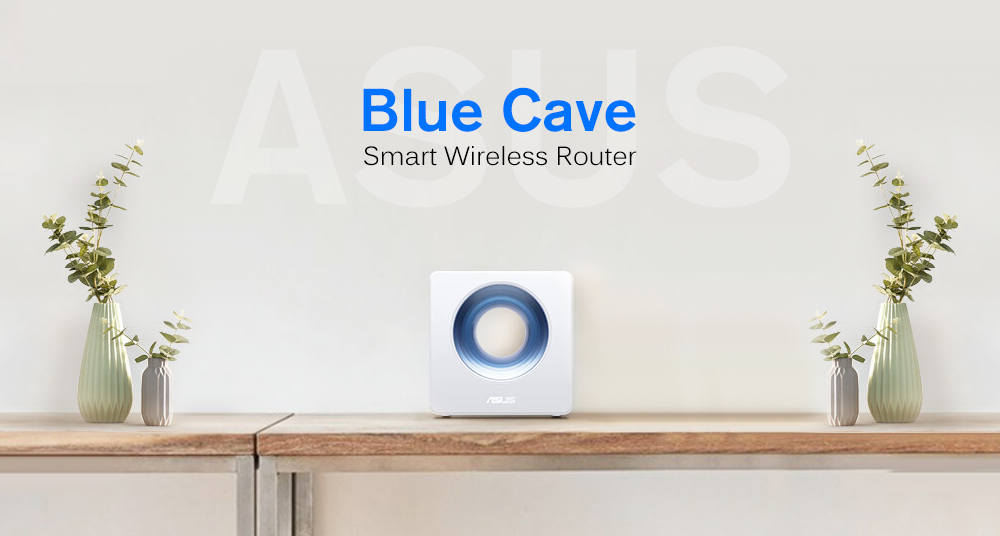 ASUS Blue Cave Smart Wireless Router 2600Mbps / 2.4GHz + 5GHz Dual Band Wi-Fi